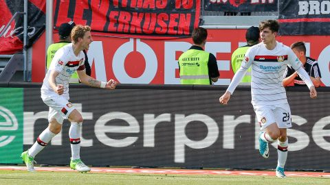 Watch: Ingolstadt 1-1 Leverkusen - highlights