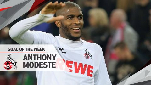 Watch: Modeste wins MD32 Goal of the Week