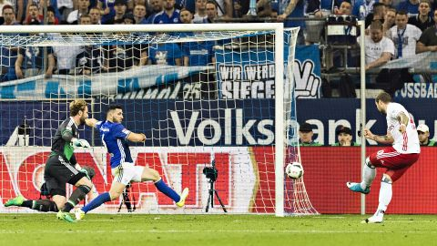 Watch: Schalke 1-1 Hamburg - highlights