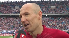 "Watch: Robben: ""A big advert for football"""
