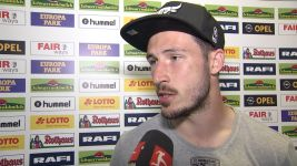 "Watch: Leckie: ""Deserve to be in this league"""