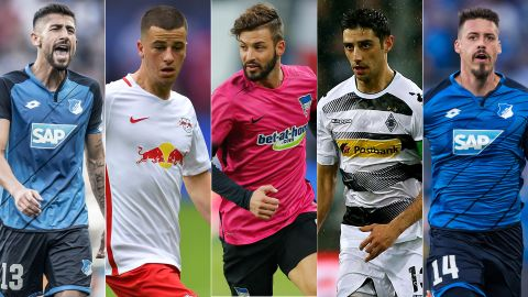 Bundesliga quintet handed debut call-up by Germany