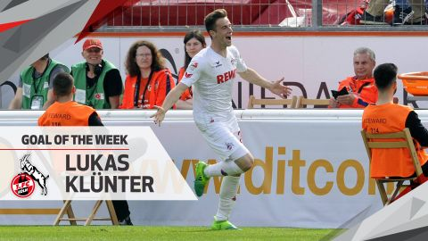 Watch: Klünter wins MD33 Goal of the Week