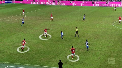 Watch: Bayern Munich's tactical masterclass