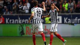 Watch: Frankfurt 2-2 Leipzig - highlights