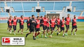 Cologne in China: training and a kickabout