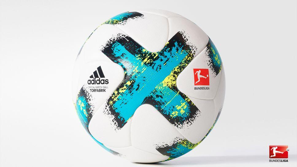 Bundesliga | adidas unveil 201718 TORFABRIK match ball