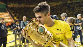 Pulisic tastes DFB Cup glory with Dortmund