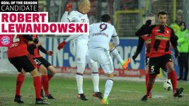 Watch: Goal of the Season contender: Lewandowski