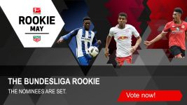 Watch: May  Bundesliga Rookie Award candidates