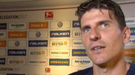 "Watch: Mario Gomez: ""We are incredibly pleased"""