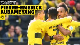 Watch: Goal of the Season contender: Aubameyang