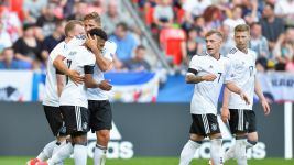 Gnabry and Meyer on target in U-21 win