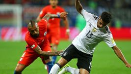 Germany 1-1 Chile - as it happened!