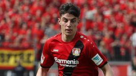 Leverkusen's Havertz signs pro terms