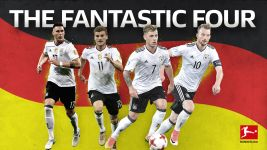The Bundesliga's Fantastic Four centurions