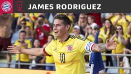 Bayern sign James Rodriguez