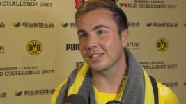 Watch: Mario Götze delighted to be back
