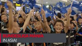 Watch: Bundesliga-mania in Asia