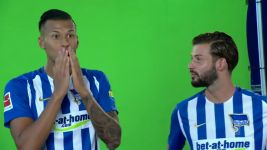 Watch: Behind the scenes at Hertha's Media Day