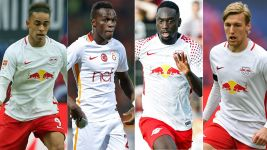 Forsberg, Bruma and the RB Leipzig wide boys