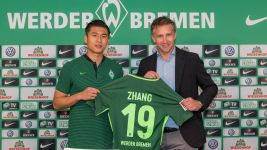 Zhang on board at Bremen
