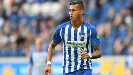 Hertha Berlin's Davie Selke suffers injury blow