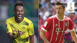Supercup shoot-out: Auba vs. Lewy