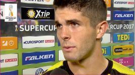 Watch: Pulisic seeks positives from Supercup loss