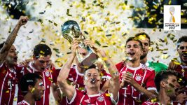 Watch: Bayern Munich lift Supercup trophy