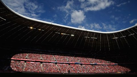 Breaking the curse of the Allianz Arena