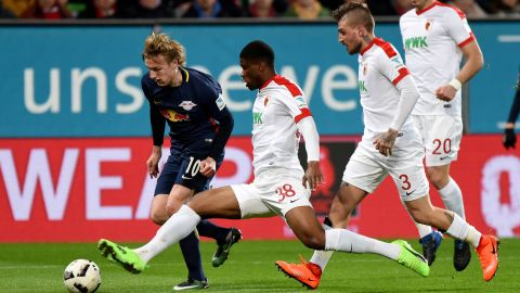 Watch: Augsburg 2-2 Leipzig - highlights