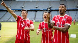 Watch: Behind the scenes at Bayern's Media Day