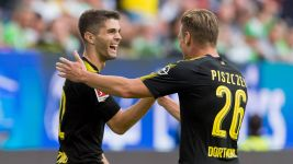 Pulisic stars as Dortmund down Wolfsburg