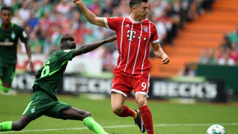Lewandowski-Show in Bremen