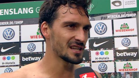 "Watch: Hummels ""Too slow today"""