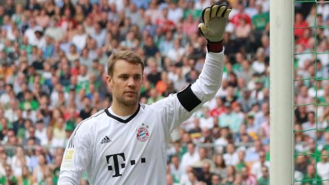 "Neuer: ""Happy to be back!"""