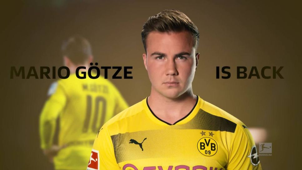 separation shoes 366a3 cedd5 Bundesliga   Fit-again Mario Götze approaching top form for ...