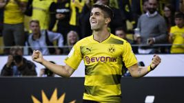 BVB's Pulisic named USMNT player of 2017