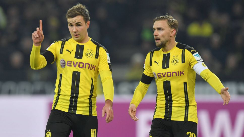online retailer c8142 4e5e0 Bundesliga   Götze and Schmelzer gift new Borussia Dortmund ...