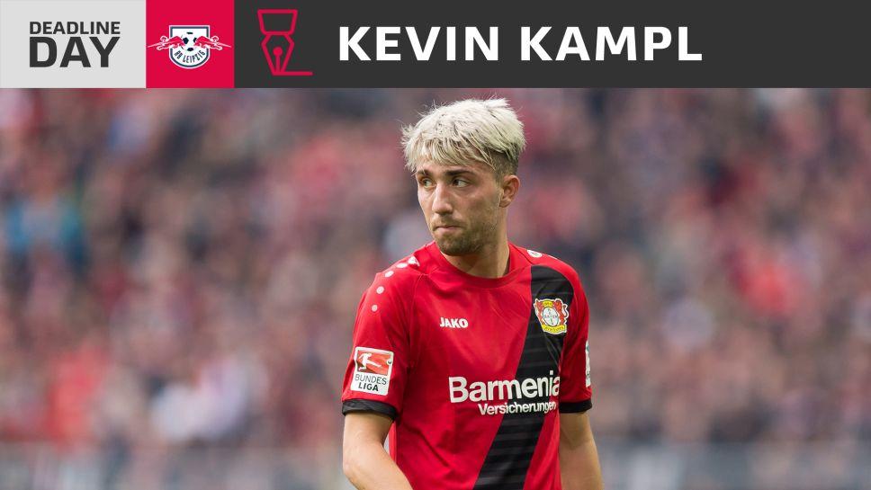 Bundesliga   Leipzig sign midfielder Kevin Kampl from Bayer Leverkusen