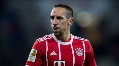 Franck Ribery makes history for Bayern