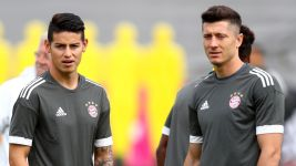 James, Lewandowski y un grupo bien bundesliguista
