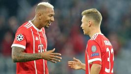 Boateng celebrates comeback in style