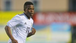 Moukoko, 12, scores twice for Germany U-16s