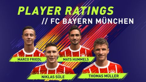 Watch: Bayern's FIFA 18 Ratings Reveal
