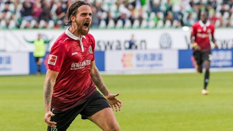 Safety first for Hannover's Harnik