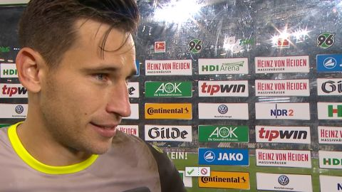 Watch: Hannover's Tschauner on historic moment