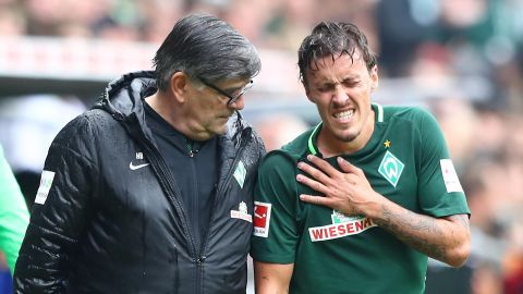 Bremen's Kruse breaks collarbone