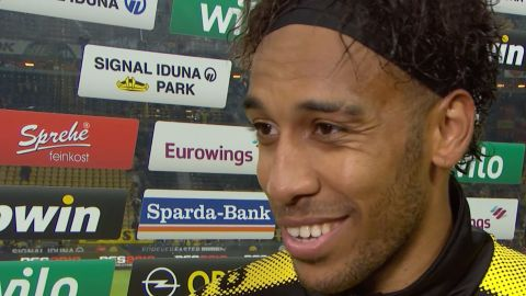 "Watch: Aubameyang ""It was fun"""